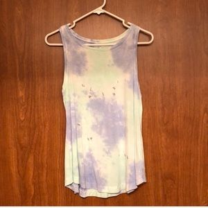 NWT American eagle tie dye soft and sexy tank top